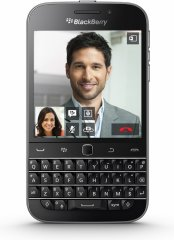 A picture of the BlackBerry Classic.