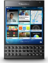 A picture of the BlackBerry Passport.