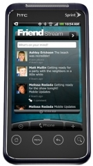 Photo of the HTC EVO Shift 4G.