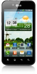 Picture of the LG Optimus Black, by LG