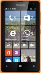A picture of the Microsoft Lumia 435.