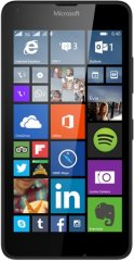 A picture of the Microsoft Lumia 640.