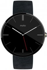 A picture of the Motorola Moto 360.