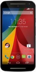 A picture of the Motorola Moto G 2014.
