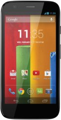 A picture of the Motorola Moto G.