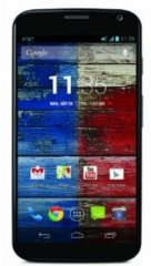 A picture of the Motorola Moto X.