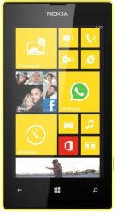 A picture of the Nokia Lumia 520.