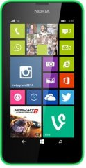 A picture of the Nokia Lumia 630.