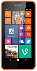 A picture of the Nokia Lumia 635.