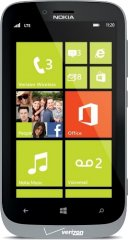 Photo of the Nokia Lumia 822.