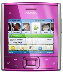 The Nokia X5-01, by Nokia.