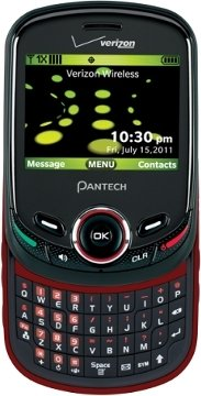 The Pantech Jest 2 is a slider phone.