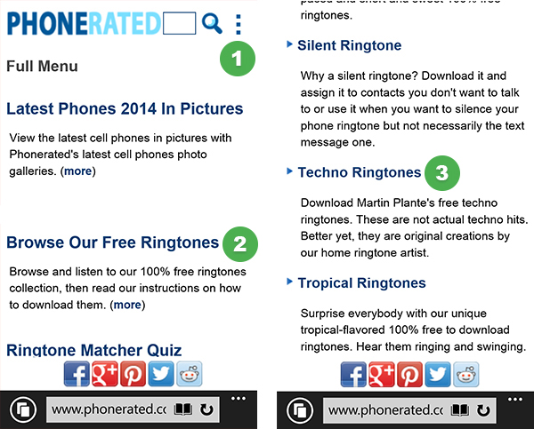 add text tones to windows phone 8