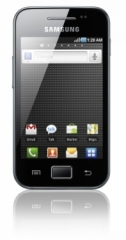 Photo of the Samsung Galaxy Ace.