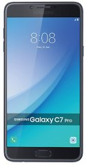 A picture of the Samsung Galaxy C7 Pro.