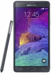 A picture of the Samsung Galaxy Note 4.