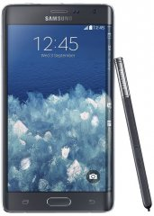 A picture of the Samsung Galaxy Note Edge.