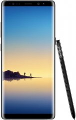 A picture of the Samsung Galaxy Note8.