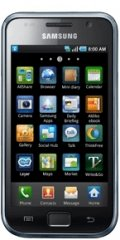 A picture of the Samsung Galaxy S.