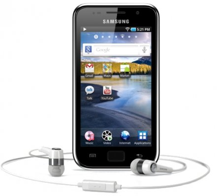 Picture of the Samsung Galaxy S WiFi 4, by Samsung