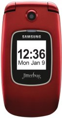 Photo of the Samsung Jitterbug Plus.