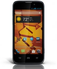 A picture of the ZTE Warp 4G.