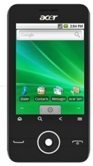 The Acer beTouch E120, by Acer
