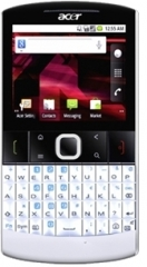The Acer beTouch E210, by Acer