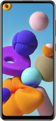 A picture of the Samsung Galaxy A21s.